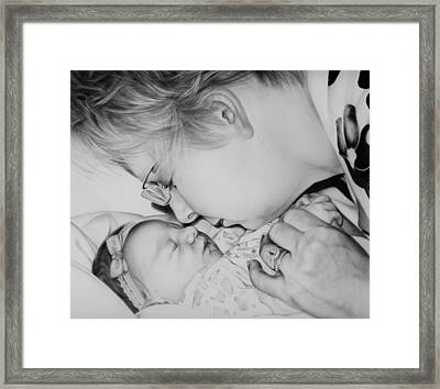 Grandma's Love Framed Print