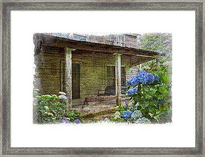 Grandma's Porch Framed Print