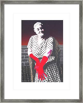 Grandmother Framed Print by Kenneth Stockton