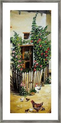 Grandmother S Home Framed Print