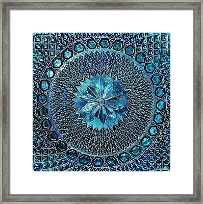 Framed Print featuring the photograph Grandmother's Antique Platter by Kathi Mirto