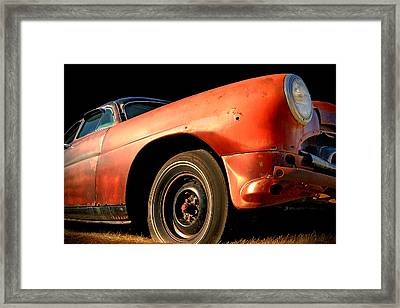 Grandpa Hudson Framed Print by Ron Day