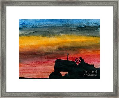 Grandpa Framed Print by R Kyllo