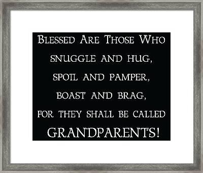 Grandparents Framed Print