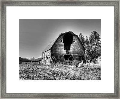 Grandpa's Barn Framed Print