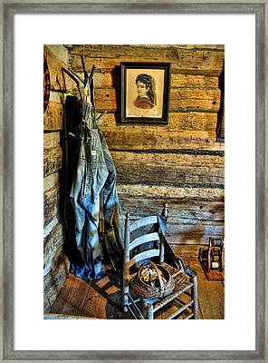 Grandpa's Closet Framed Print by Jan Amiss Photography