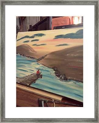 Grandpa's  Passion  Framed Print by Renee McKnight