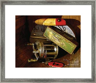 Grandpas Things Framed Print by Lee Craig