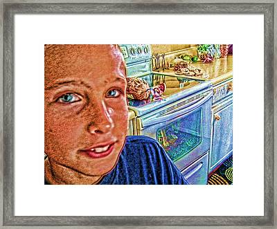 Grandson II Framed Print by Robert Rhoads