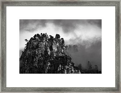 Granite Bluff  Mg2420 Framed Print