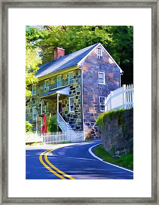 Granite Hill Framed Print