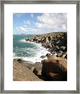 Granite Island Framed Print