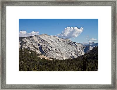 Granite Mountain Framed Print