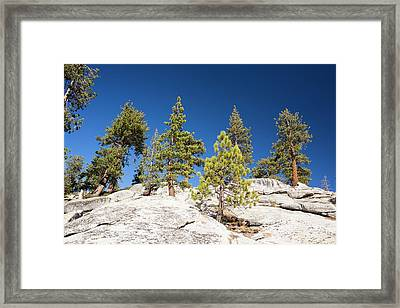 Granite Outcrop Framed Print by Ashley Cooper