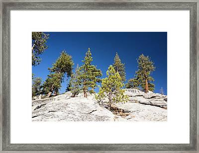 Granite Outcrop Framed Print