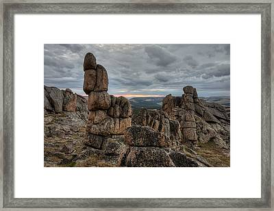 Granite Shape And Form Framed Print