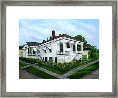 Grannie's House Framed Print