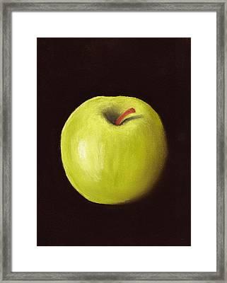 Granny Smith Apple Framed Print by Anastasiya Malakhova
