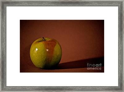 Granny Smith Framed Print by Sharon Elliott