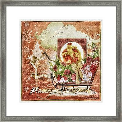 Granny's Christmas Framed Print by Mo T