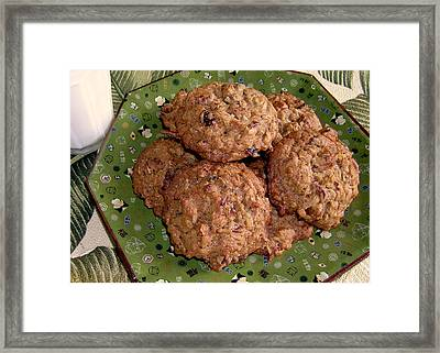 Granny's Island Cookies Framed Print by James Temple