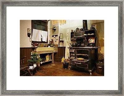 Granny's Kitchen Framed Print