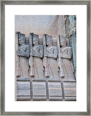 Grant Hall Cadet Fresco Framed Print