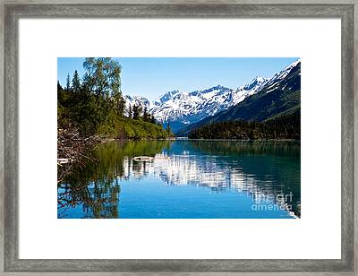Grant Lake Framed Print by Chris Heitstuman