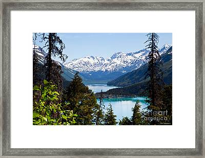 Grant Lake Overlook Framed Print by Chris Heitstuman