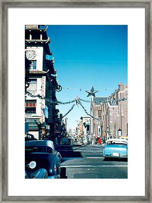 Grant Street 1956 Framed Print by Cumberland Warden