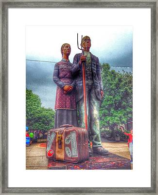 Grant's Muse Framed Print by Jame Hayes