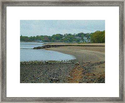 Granular Solitude Framed Print