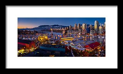 False Creek Framed Prints