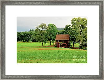 Granville Mill II Framed Print by Catherine Reusch Daley
