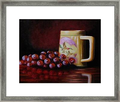 Grape Expectations Framed Print by Gene Gregory