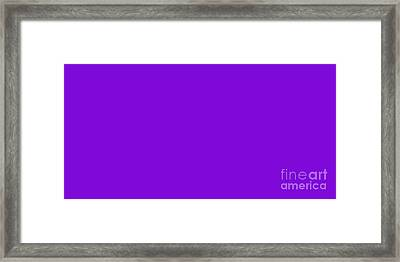 Grape Juice Panorama Framed Print