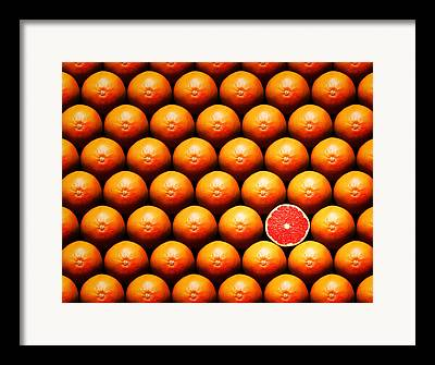 Grapefruit Framed Prints