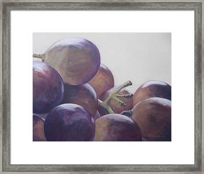 Grapes No.5 Framed Print