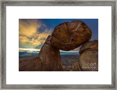 Grapevine Hills Framed Print by Inge Johnsson
