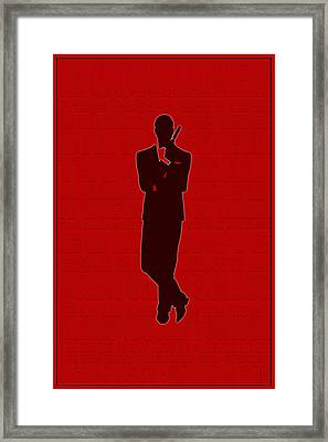 Graphic Bond 3 Framed Print by Andrew Fare