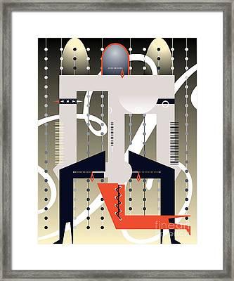 Graphic Discipline Hd Framed Print by John Castell