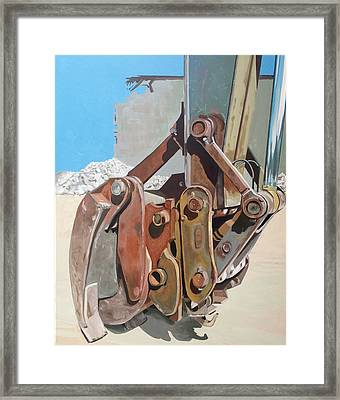Grapple Framed Print by Jeffrey Bess