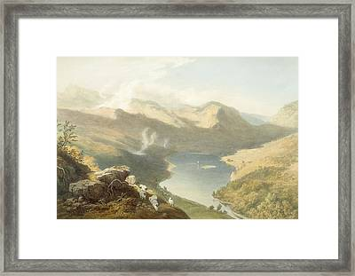 Grasmere From Langdale Fell, From The Framed Print by James Baker Pyne