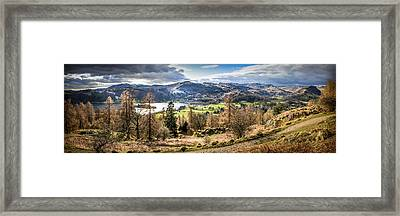 Grasmere Lake District National Park Framed Print