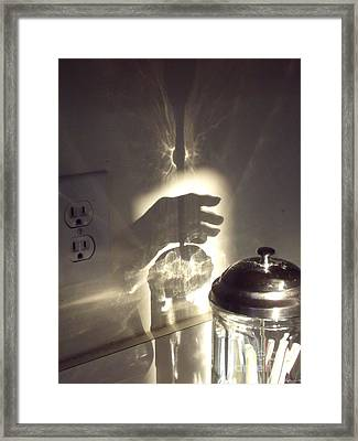 Grasping At Straws Framed Print
