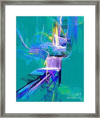 Grass Dancer Framed Print