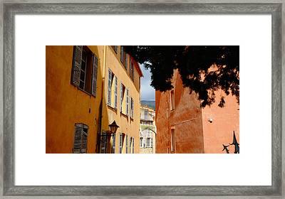 Grasse Alley France Framed Print