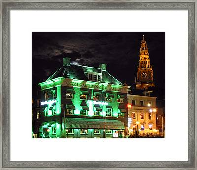 Grasshopper Bar Framed Print by Adam Romanowicz