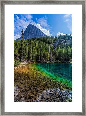 Grassi Lakes Canada Framed Print by Tommy Farnsworth