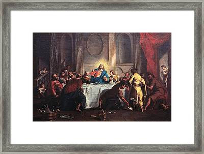 Grassi Nicola, Last Supper, 18th Framed Print